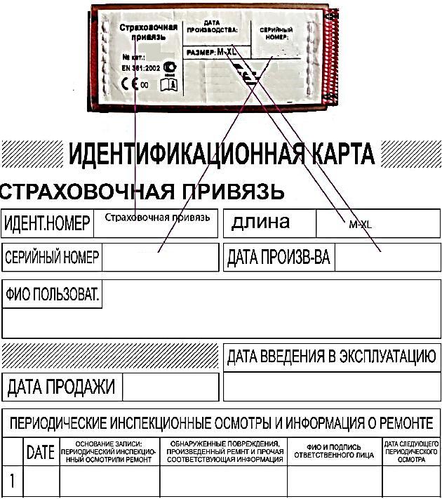 Фотография Идентификационная карта