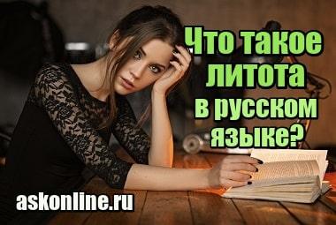 Изображение Что такое литота в русском языке и литературе, примеры