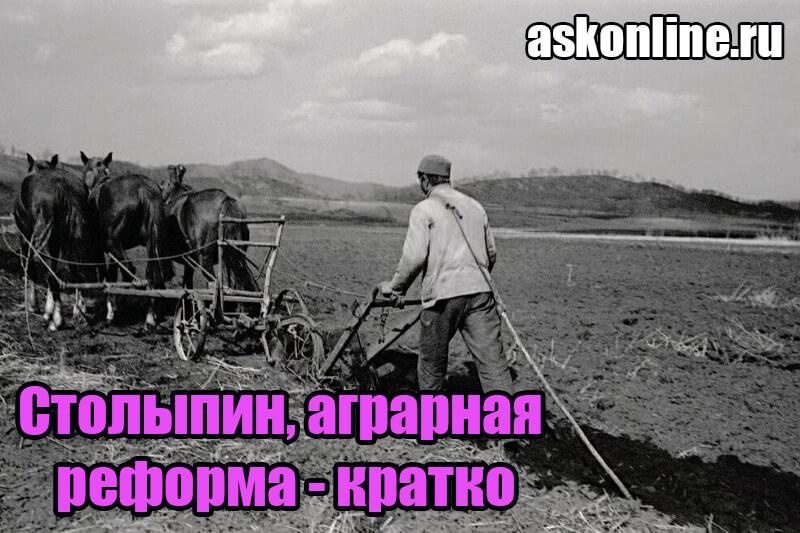 Переселение на новые земли во время аграрной реформы Столыпина